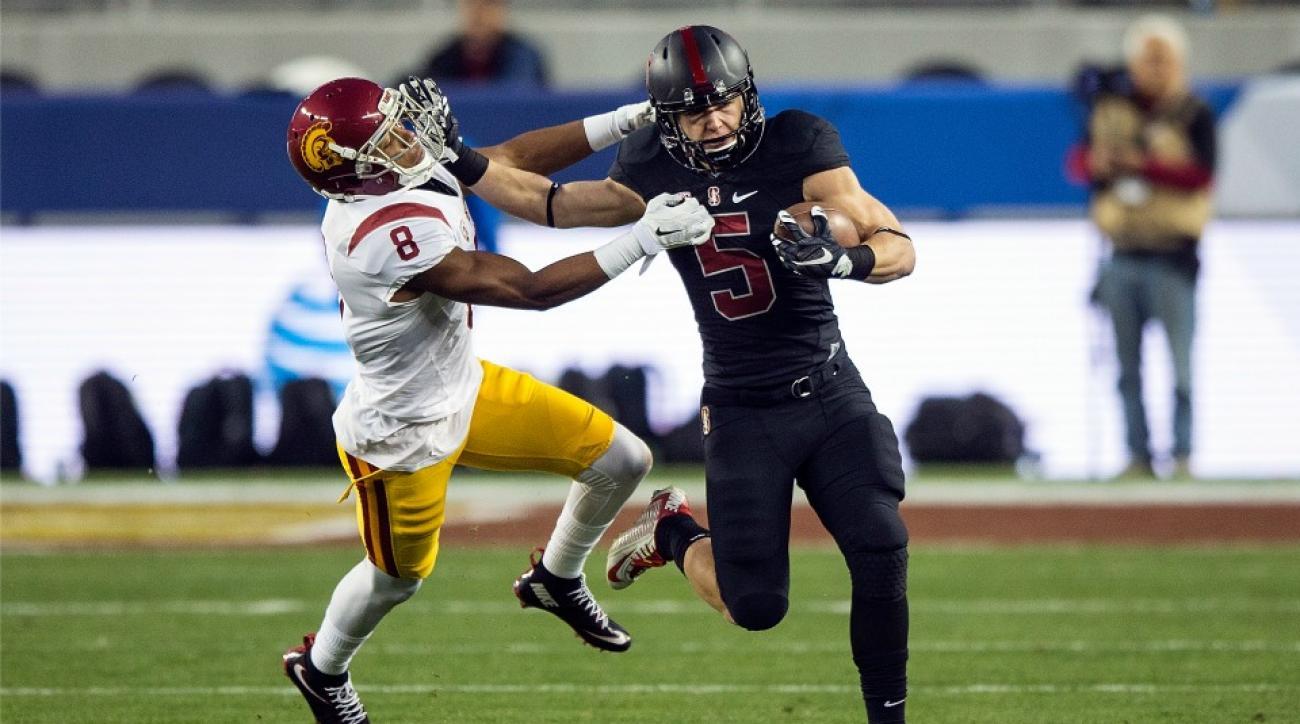 Christian McCaffrey, Stanford teammates watch Heisman announcement