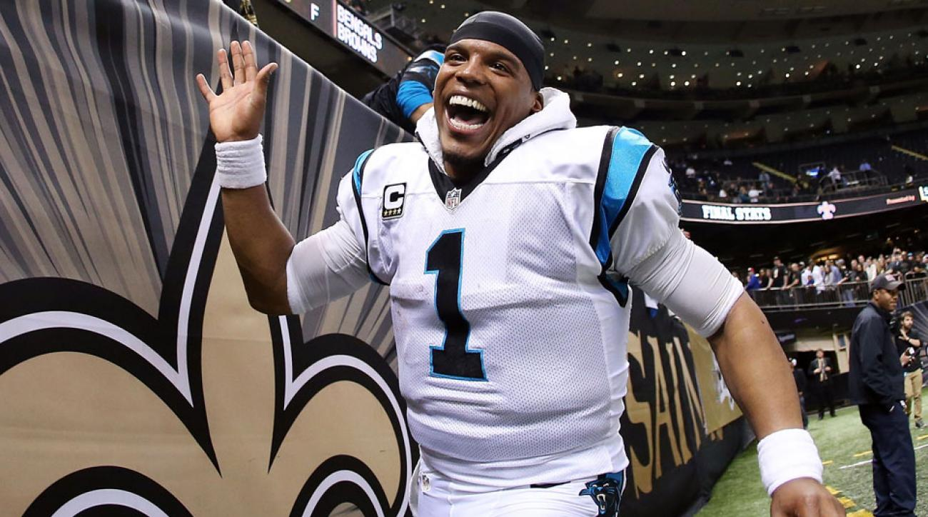 cam newton nfl player of the week