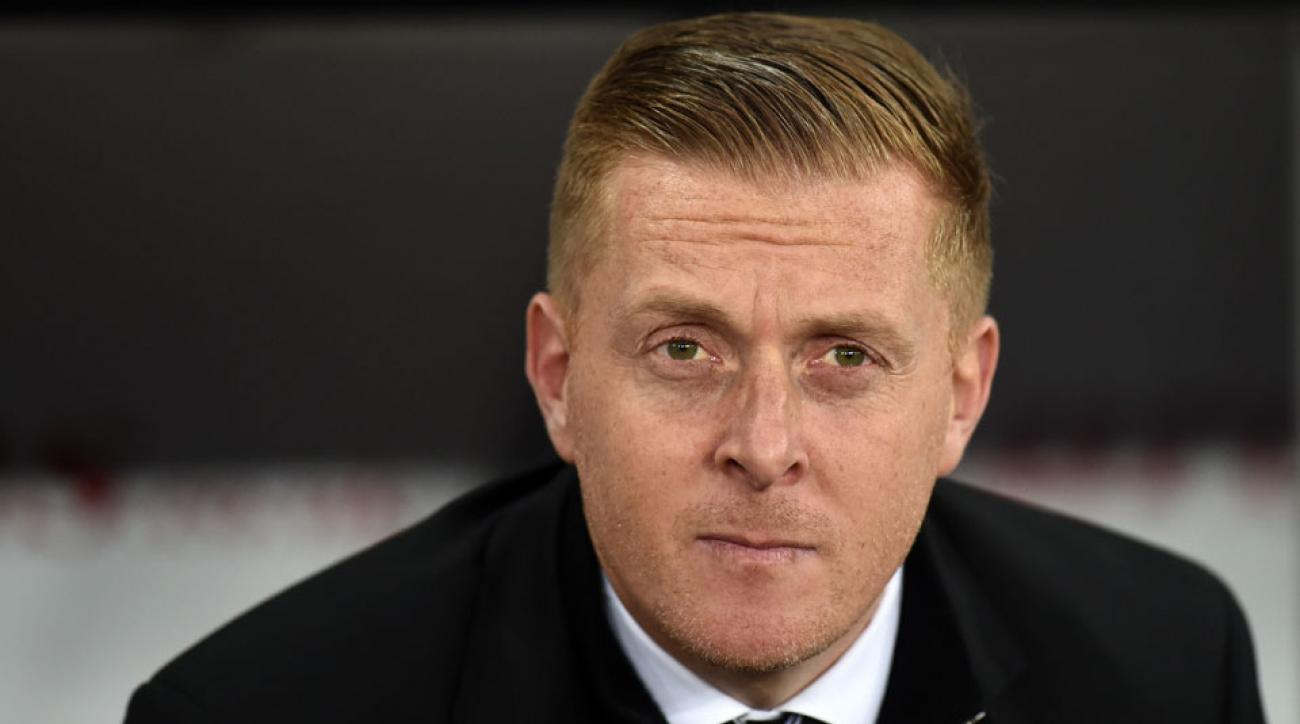 garry monk fired swansea city premier league