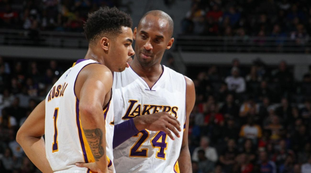 Los Angeles Lakers' D'angelo Russell nails Kobe Bryant impression