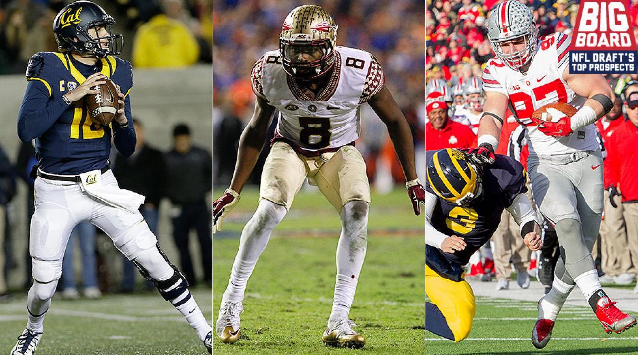 2016 NFL draft big board: Top 40 prospect rankings lead with Joey Bosa, Jalen Ramsey