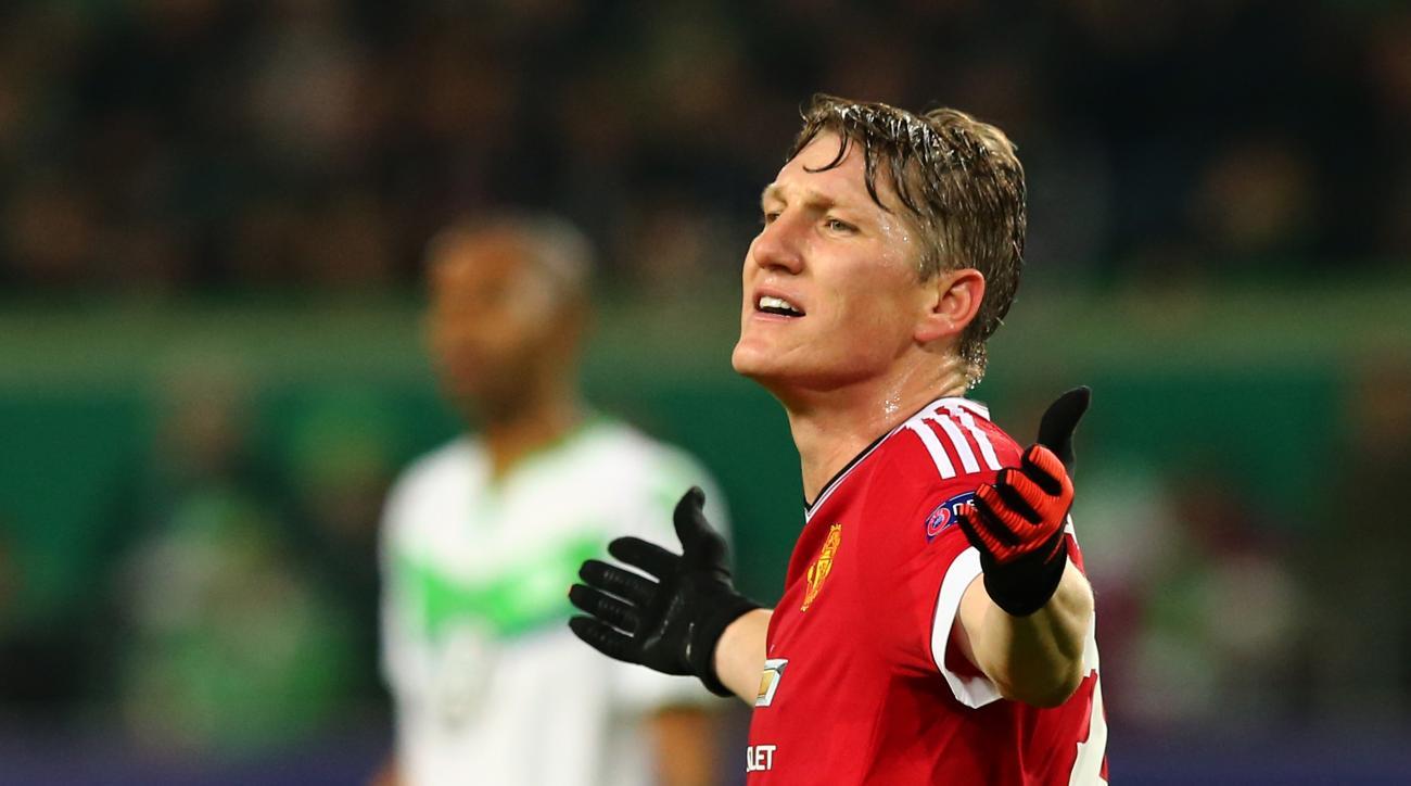 bastian schweinsteiger suspended manchester united three games