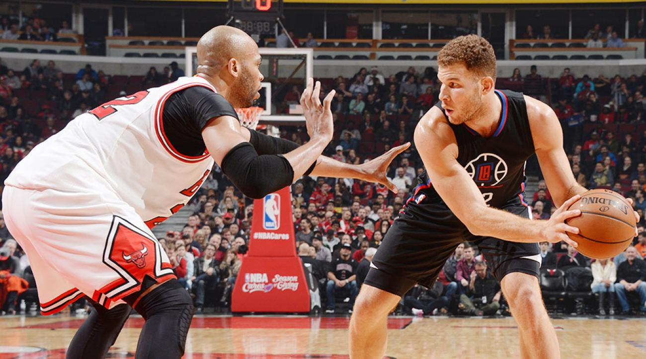 Blake Griffin video ejection Los Angeles Clippers Chicago Bulls