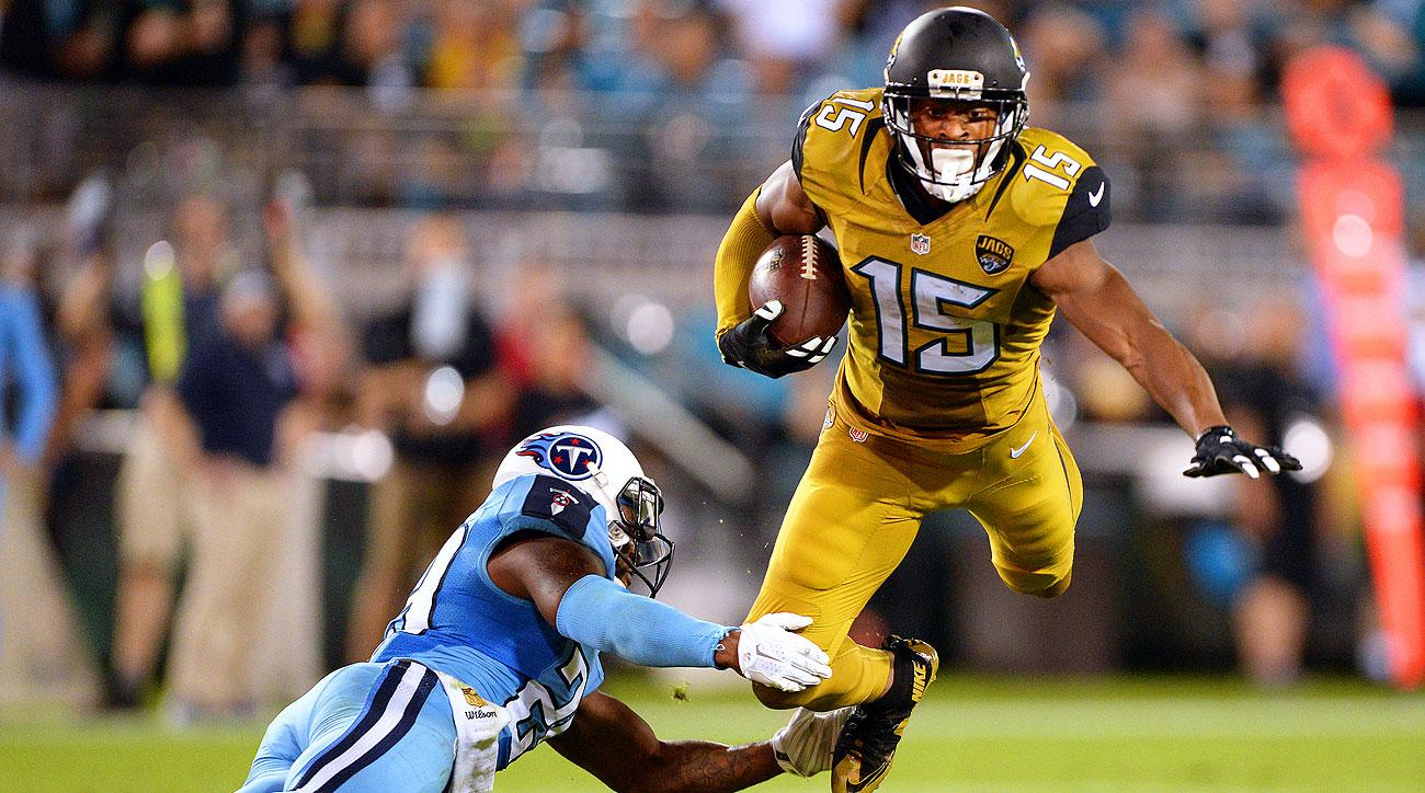 Allen Robinson is fifth in the league in receiving yards and second in touchdowns.