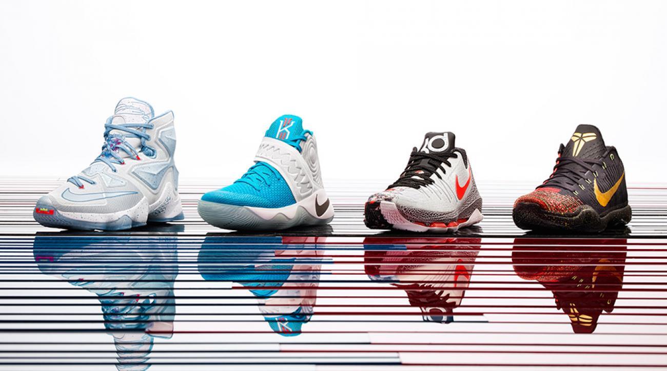 NBA Christmas Day photos: Nike, adidas unveil LeBron 13 and more ...
