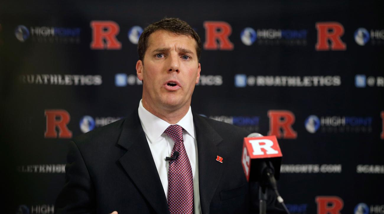 rutgers football fires seven assistants chris ash