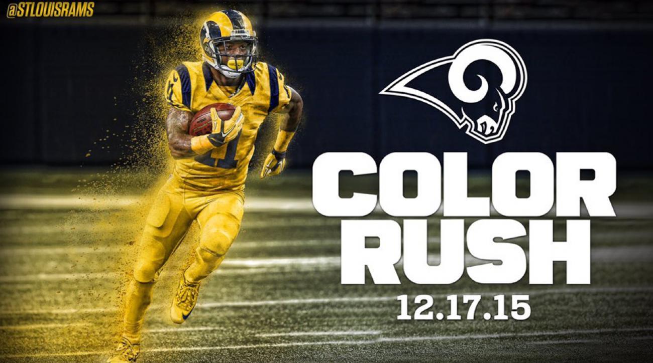 b745c6eda67 Buccaneers vs Rams: NFL reveals Week 15 Color Rush uniforms | SI.com