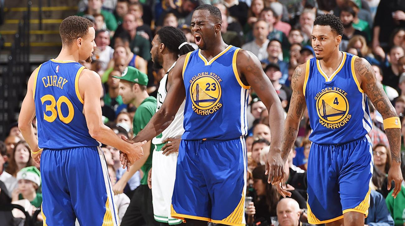 Draymond Green Golden State Warriors Boston Celtics