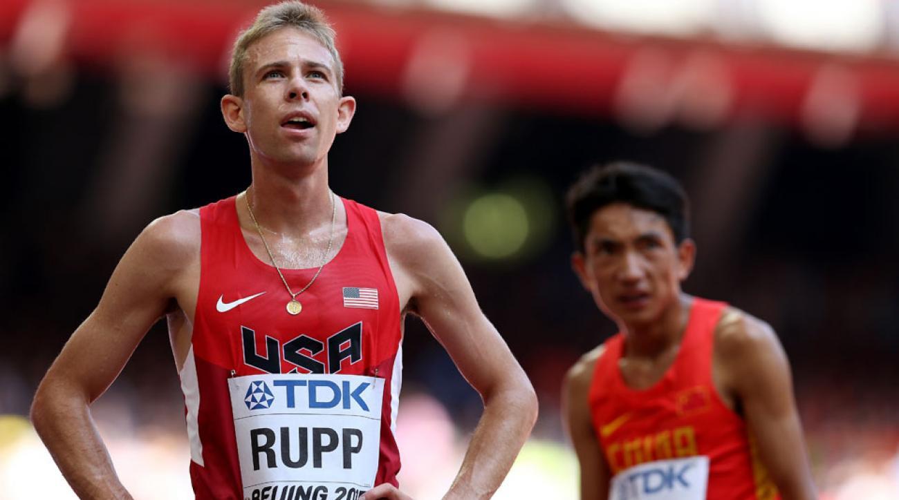 galen rupp wins portland half-marathon olympic marathon trials