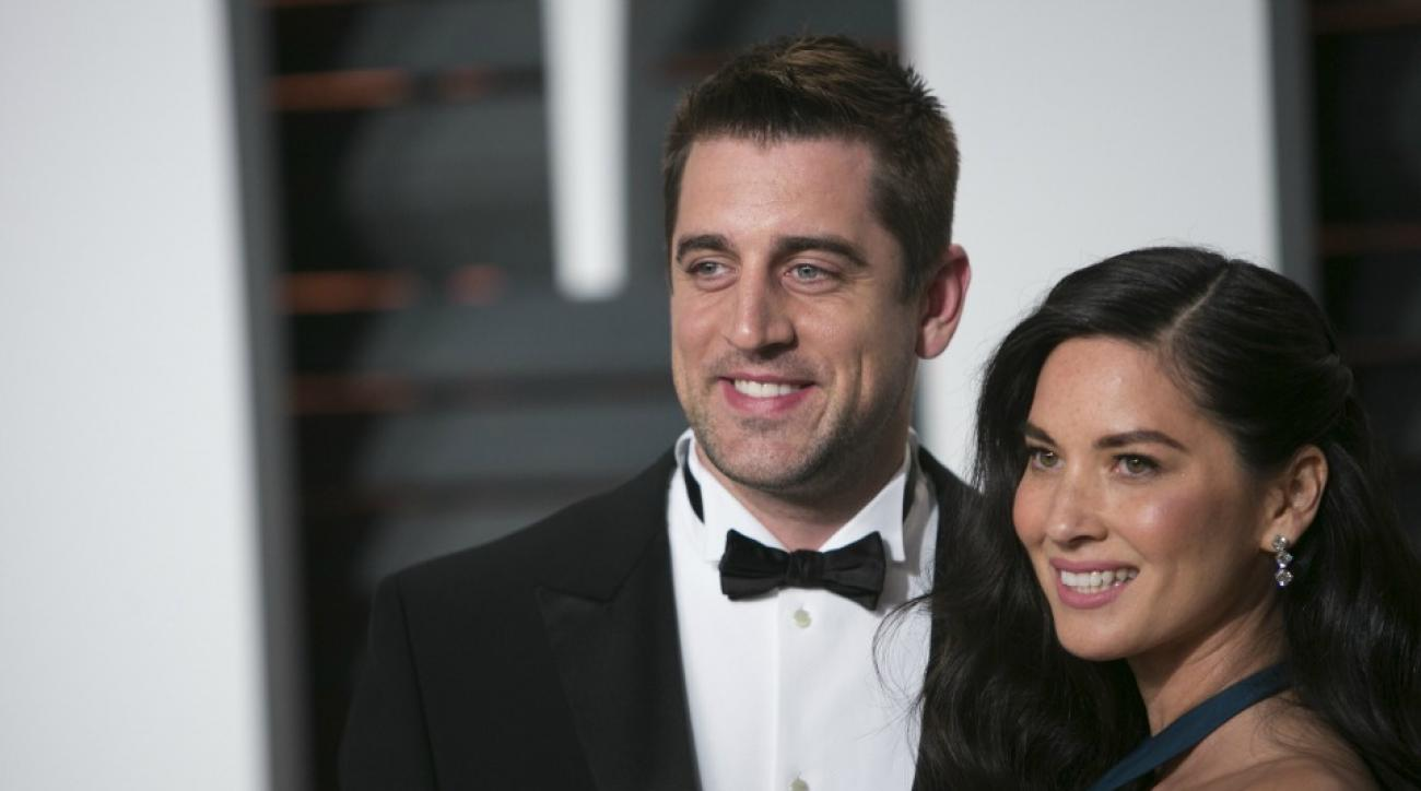 Aaron Rodgers, Olivia Munn excited for Star Wars: The Force Awakens