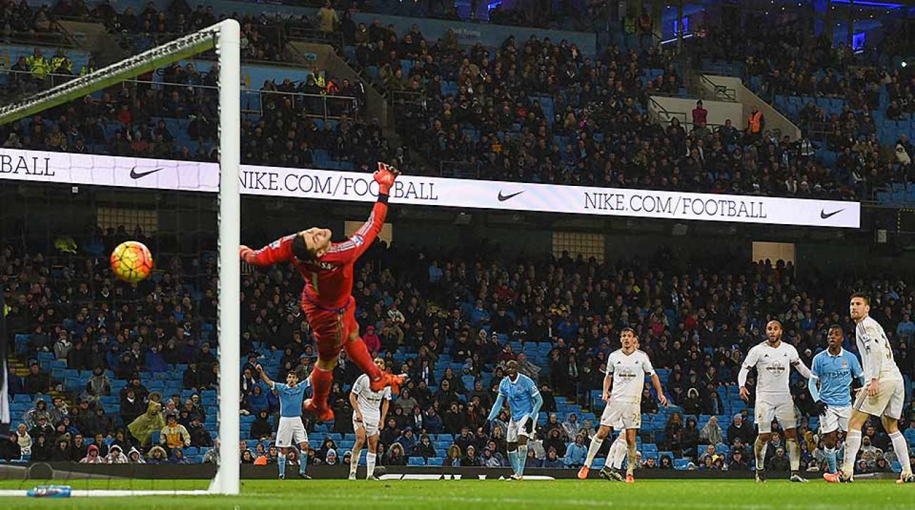 Manchester City vs. Swansea City