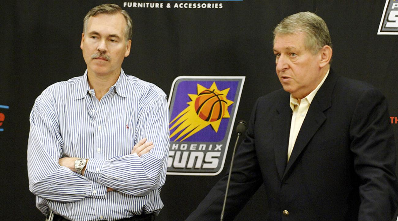 Mike D'Antoni Jerry Colangelo Philadelphia Sixers associate head coach