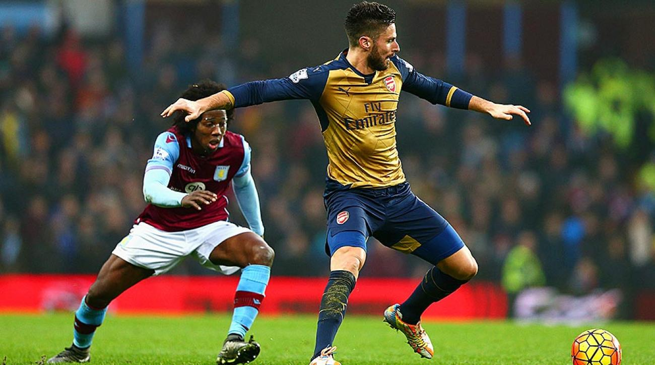 Arsenal vs. Aston Villa