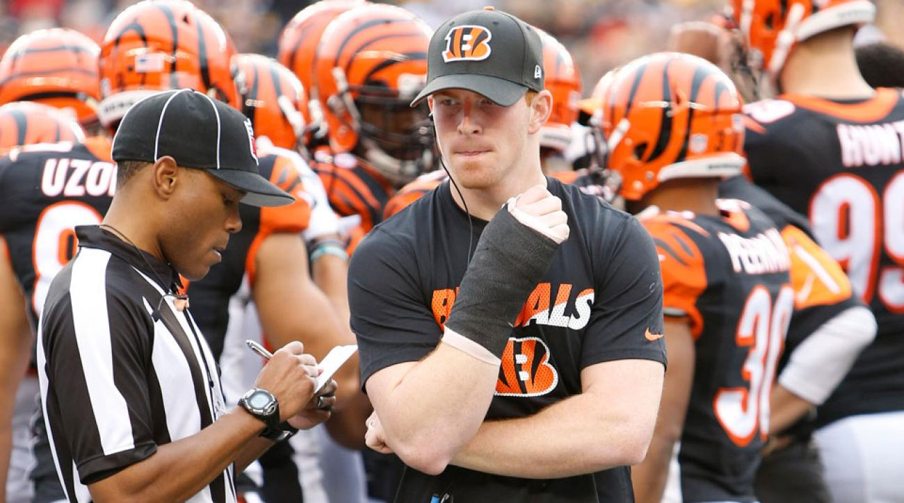 NFL Week 14 scores: Andy Dalton injured as Steelers beat Bengals to mix up AFC North