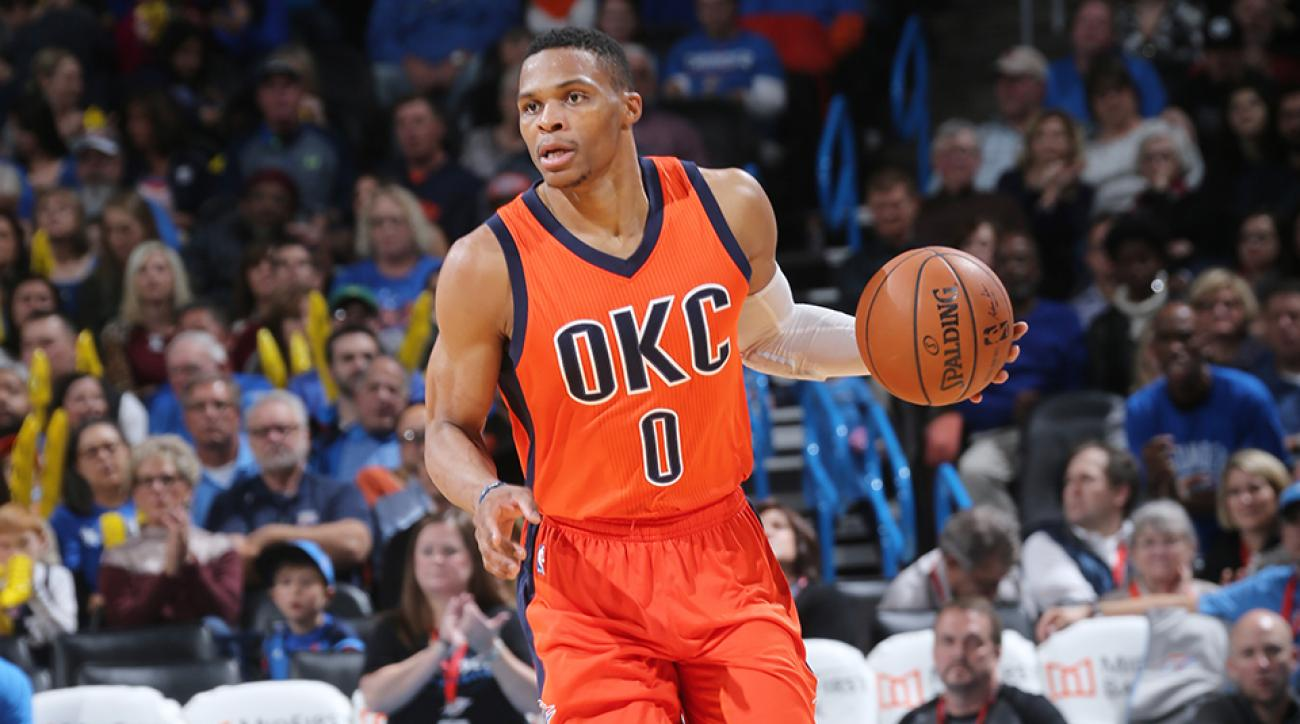 thunder russell westbrook inbound defender back buzzer beater video