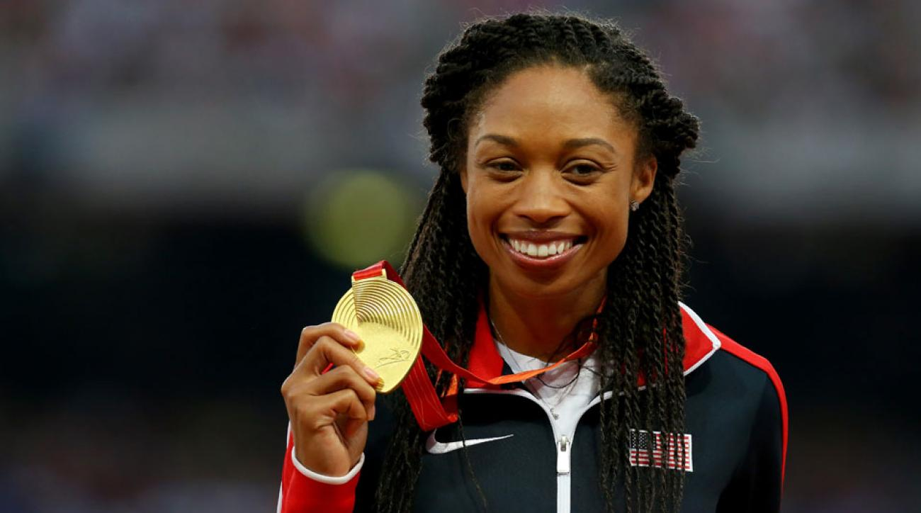 allyson felix olympic double schedule change usatf petition