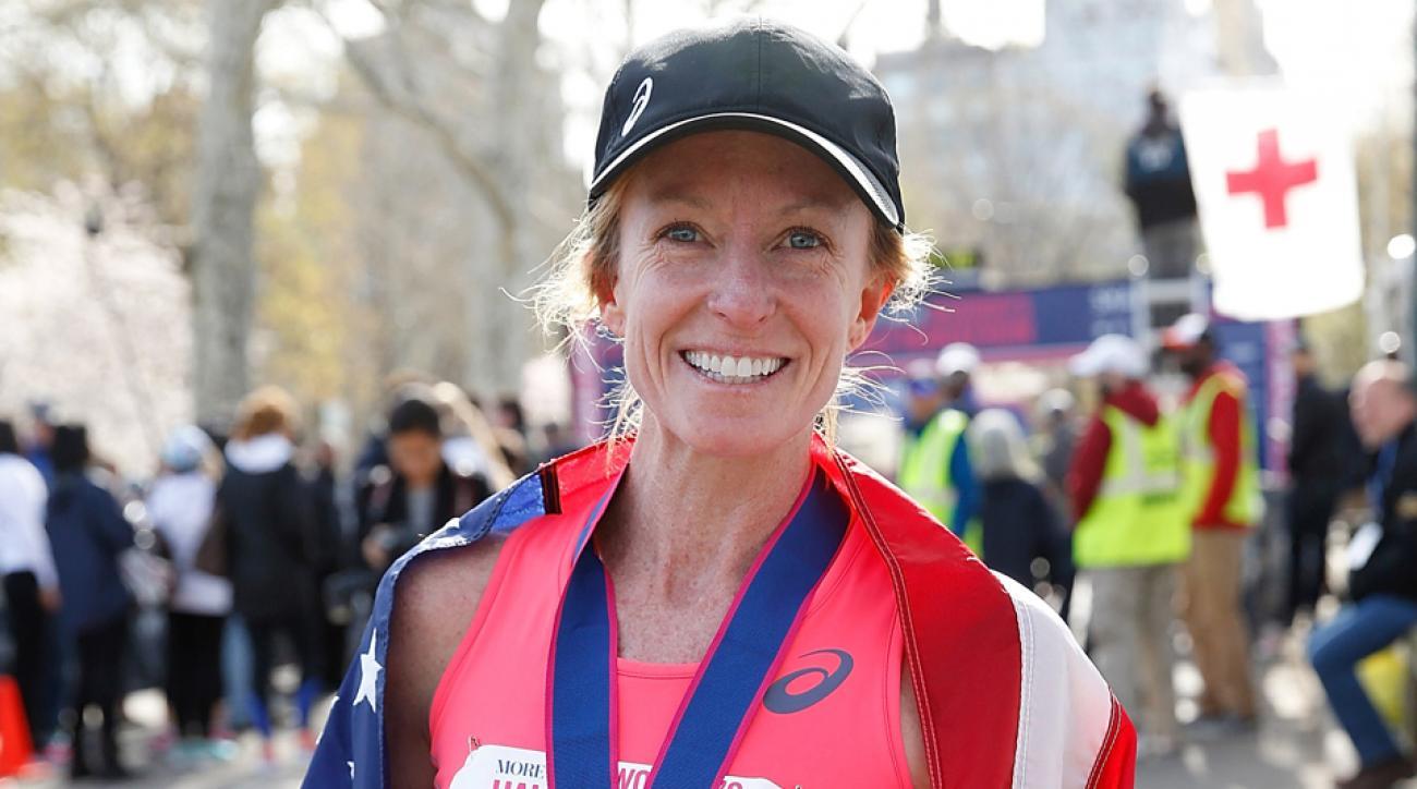 deena kastor olympic trials marathon los angeles
