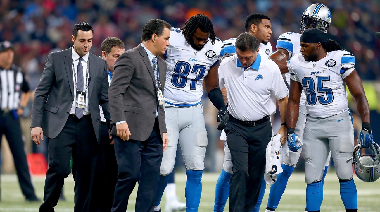 Lions TE Brandon Pettigrew out for season with torn ACL