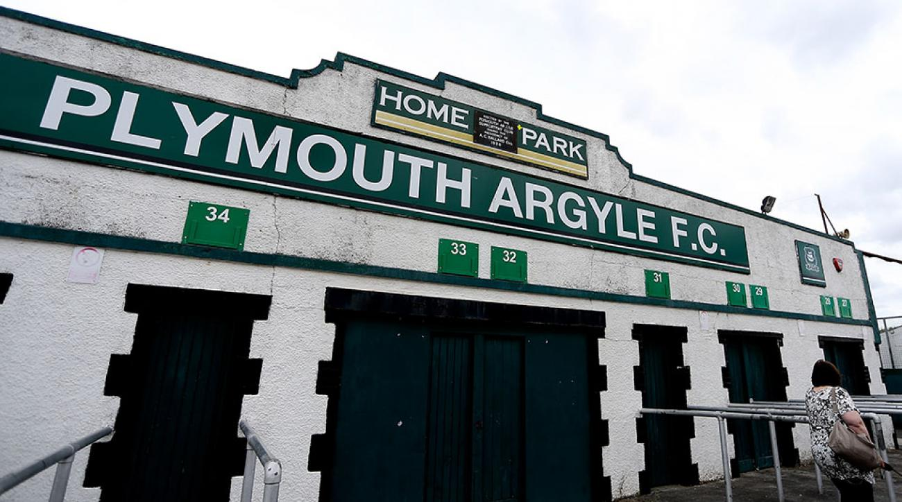 plymouth argyle cambridge united derek adams algae