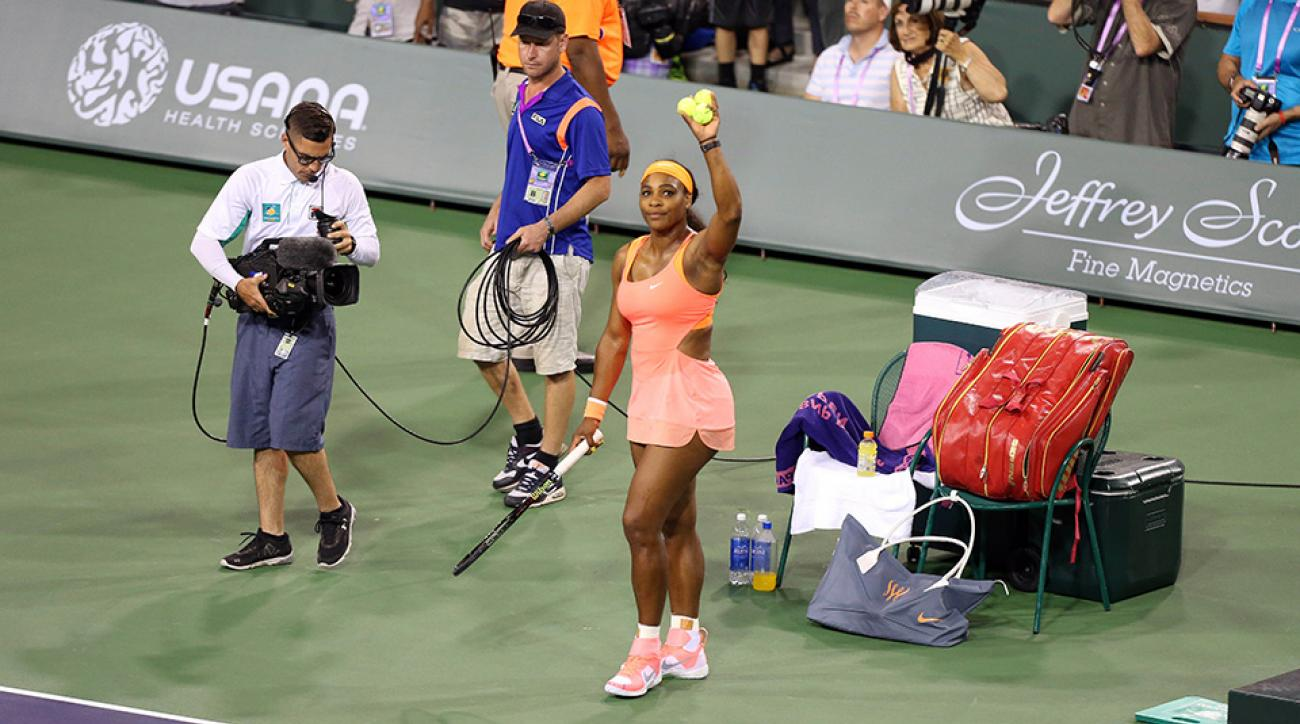 serena williams indian wells return sportsperson year