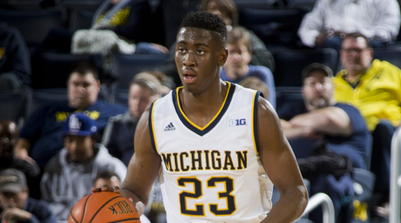caris levert triple double michigan