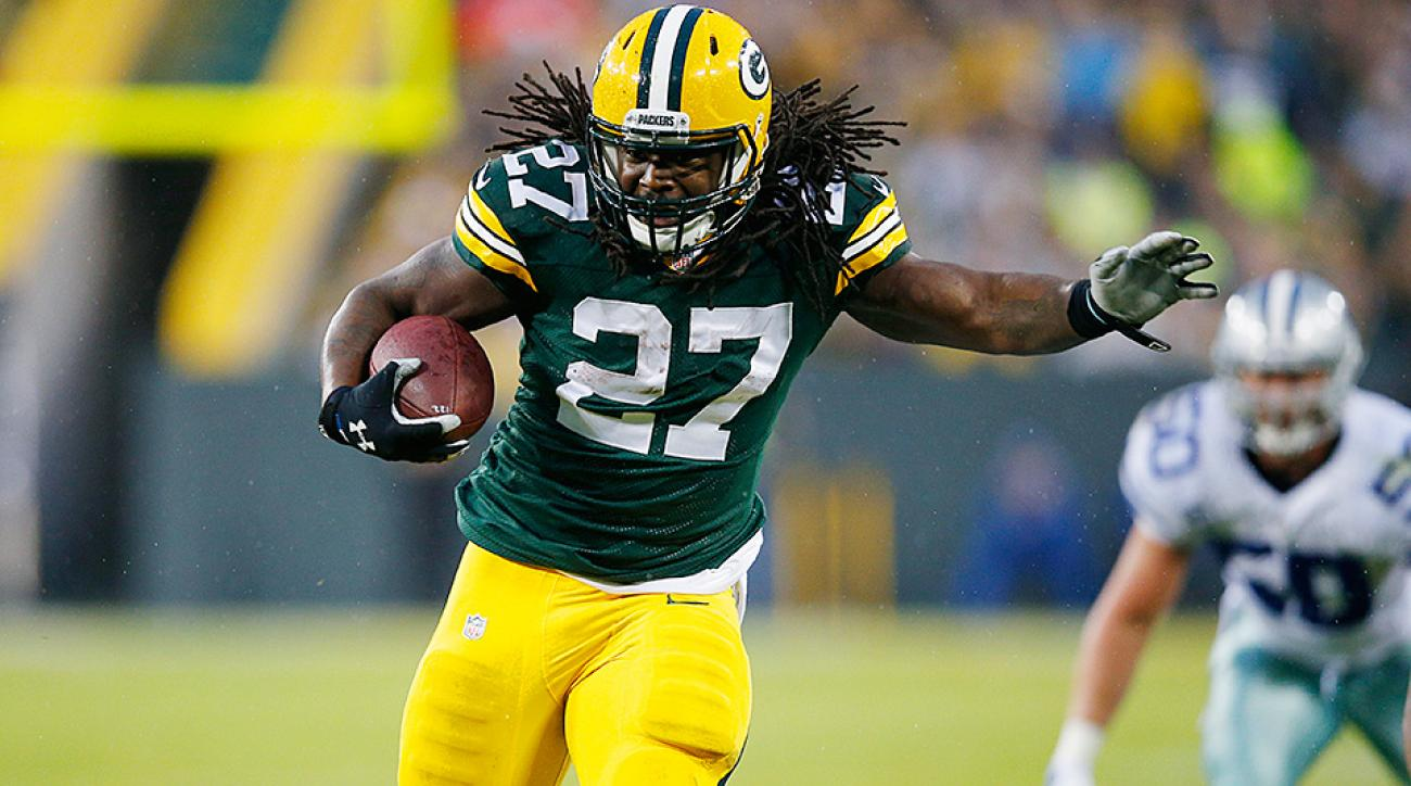 Fantasy Risers and Sliders: Eddie Lacy getting back on track at perfect time for his owners