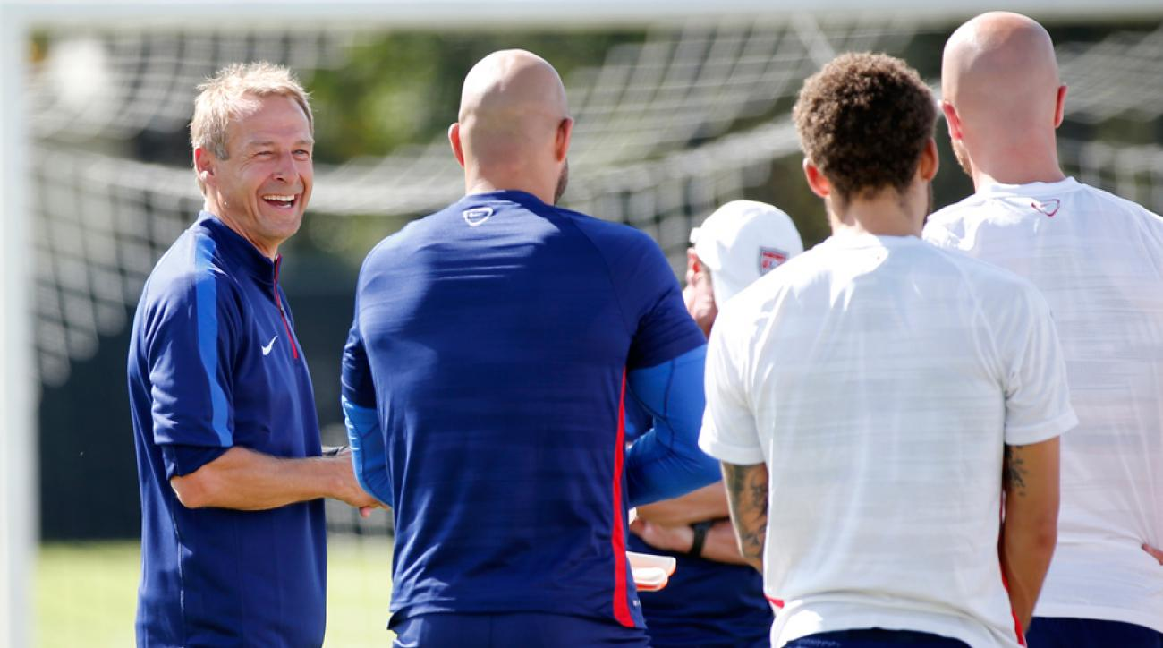 Jurgen Klinsmann, USA January Camp