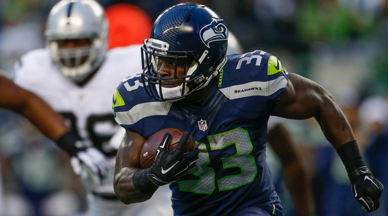 christine michael seattle seahawks signed