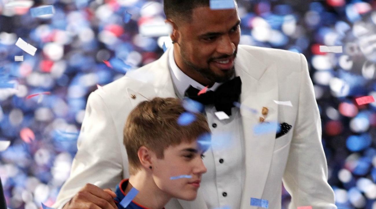 Justin Bieber was baptized in Tyson Chandler's bathtub