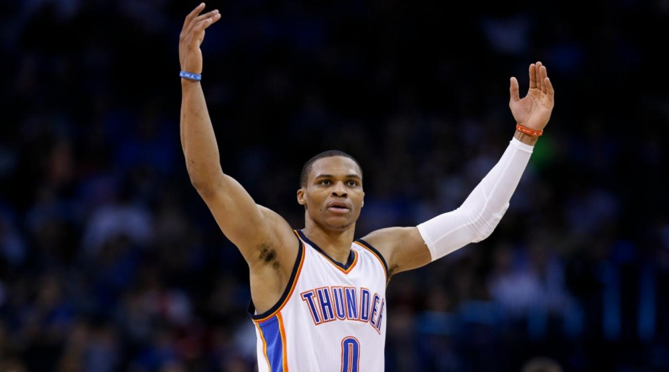 Russell Westbrook visits gunshot victim in hospital for Christmas