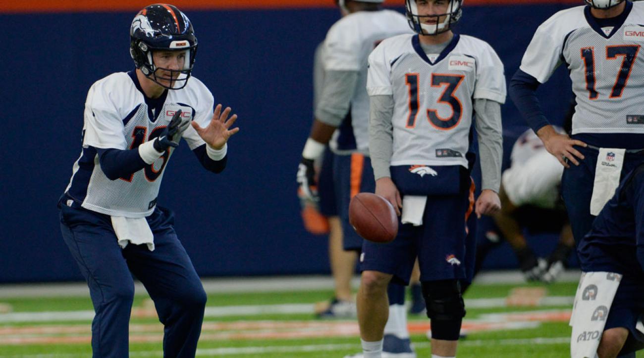 peyton manning returns to practice denver broncos injury update