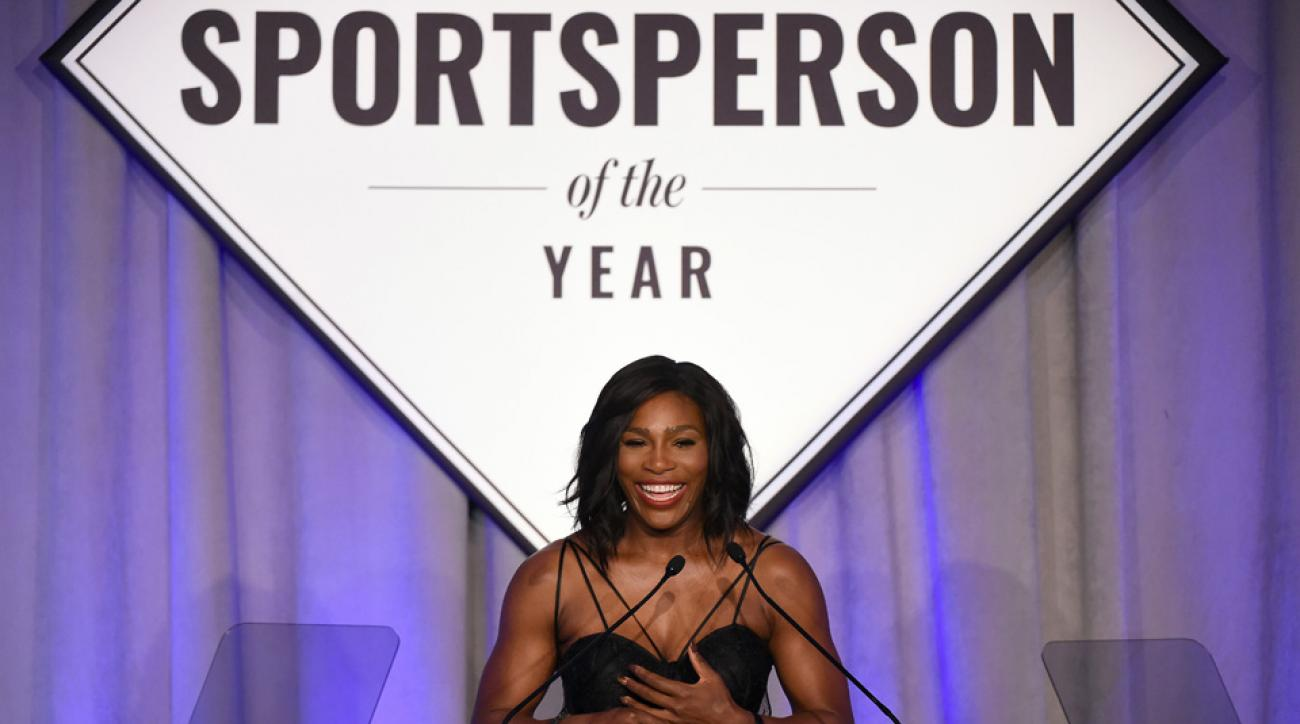 serena williams sportsperson of the year award acceptance speech sports illustrated
