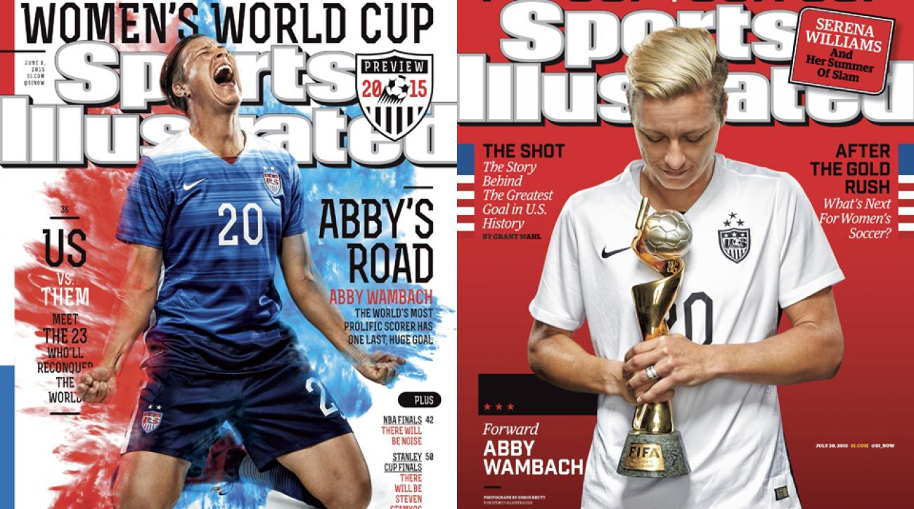 Abby Wambach, Sports Illustrated covers