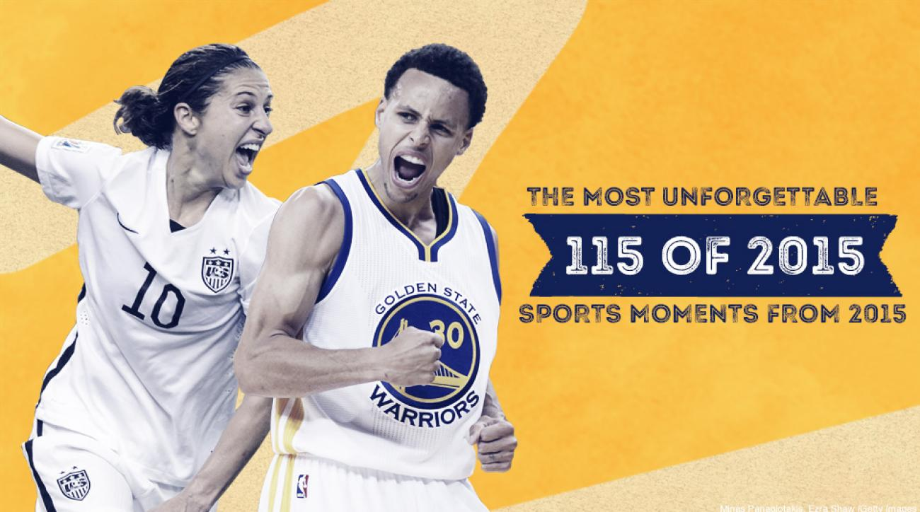 Best sports moments 2015: Top games, highlights, events