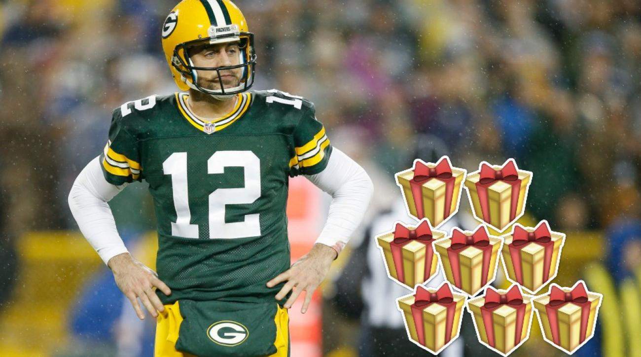 Green Bay Packers' Aaron Rodgers still has shopping left