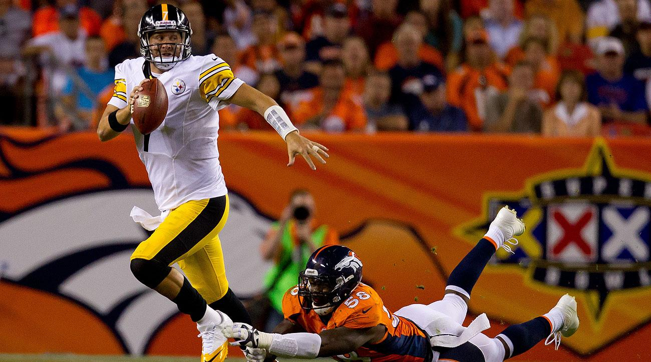 Getting pressure on Ben Roethlisberger could take the pressure off the Broncos secondary on Sunday.
