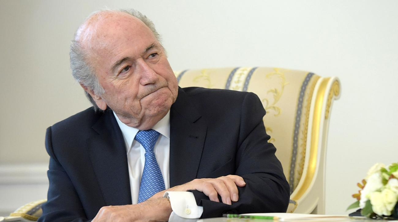 FIFA investigation: Sepp Blatter appears before ethics ...
