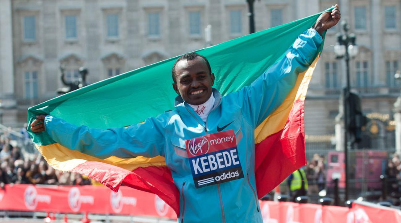 tsegaye kebede racing 2016 dubai marathon