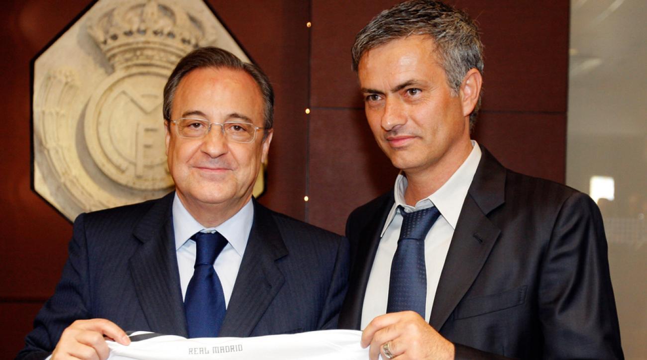 Florentino Perez, Jose Mourinho, Real Madrid