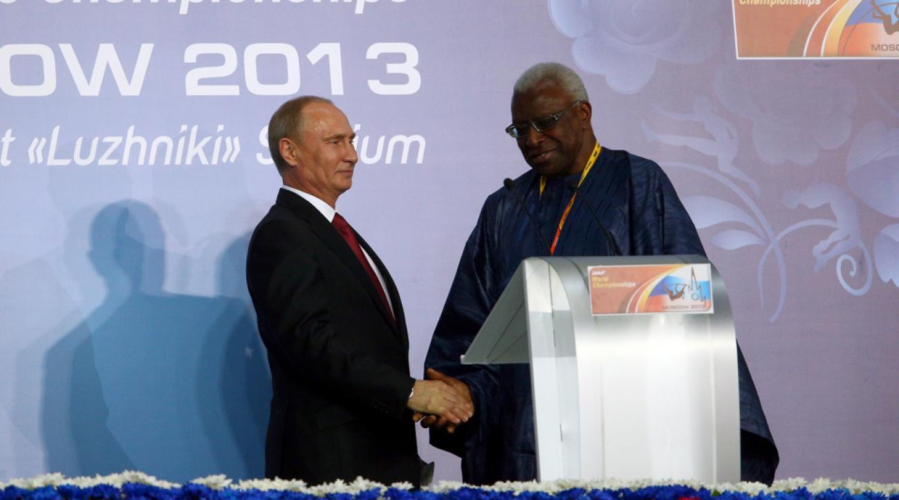 lamine diack confession russian doping scandal bribe iaaf corruption
