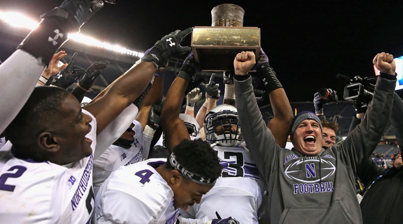 northwestern college football academic rankings