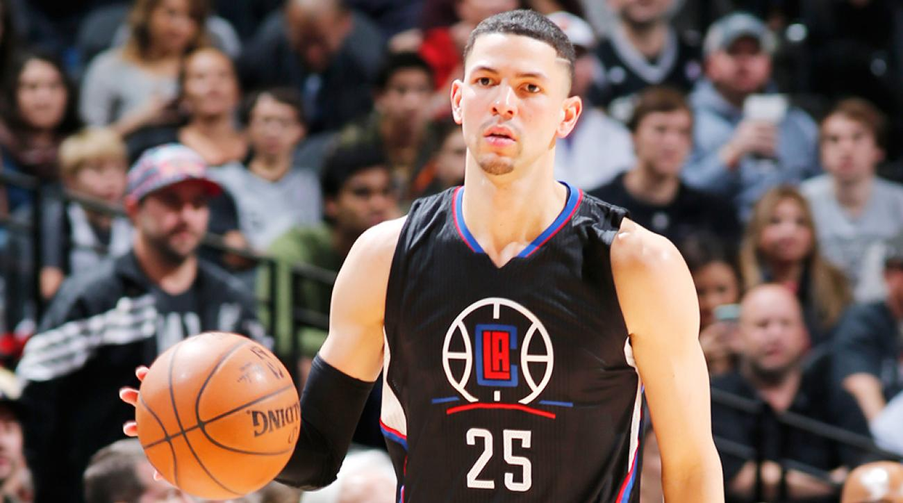 Austin Rivers ankle sprain Los Angeles Clippers Houston Rockets