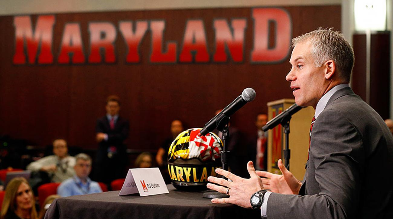 New Maryland head coach D.J. Durkin