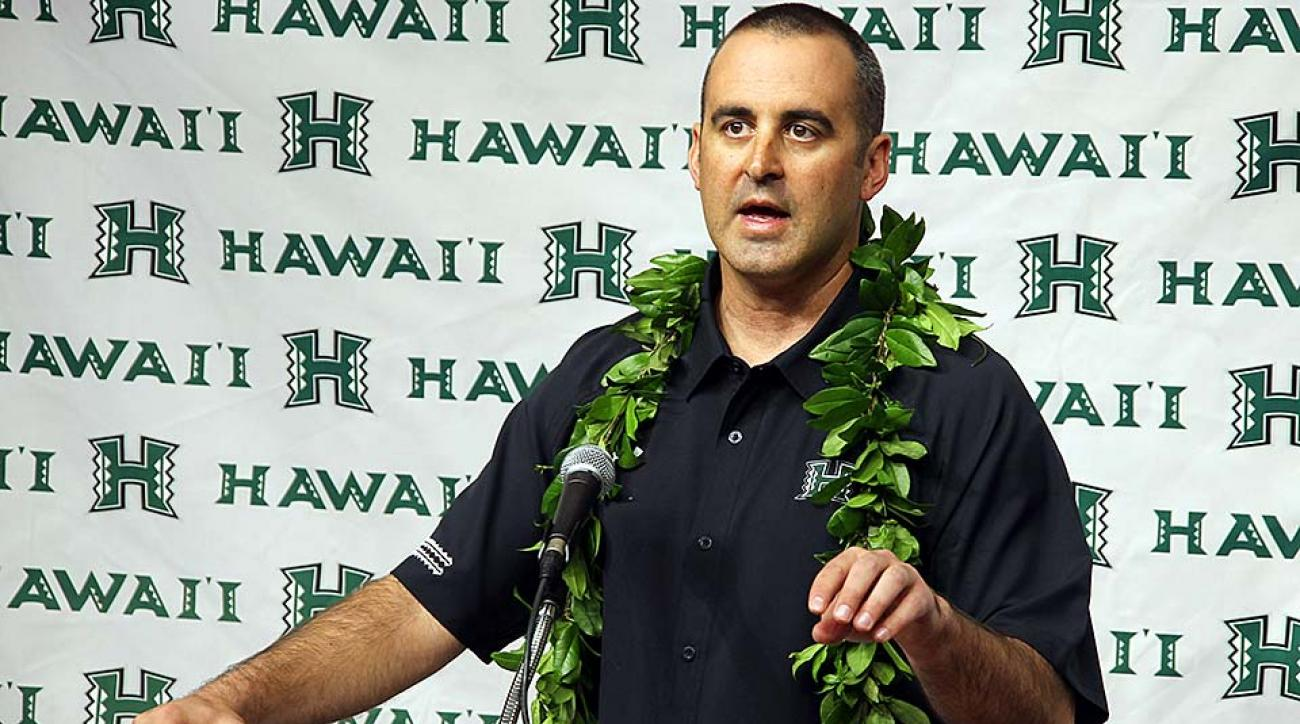 New Hawaii head coach Nick Rolovich