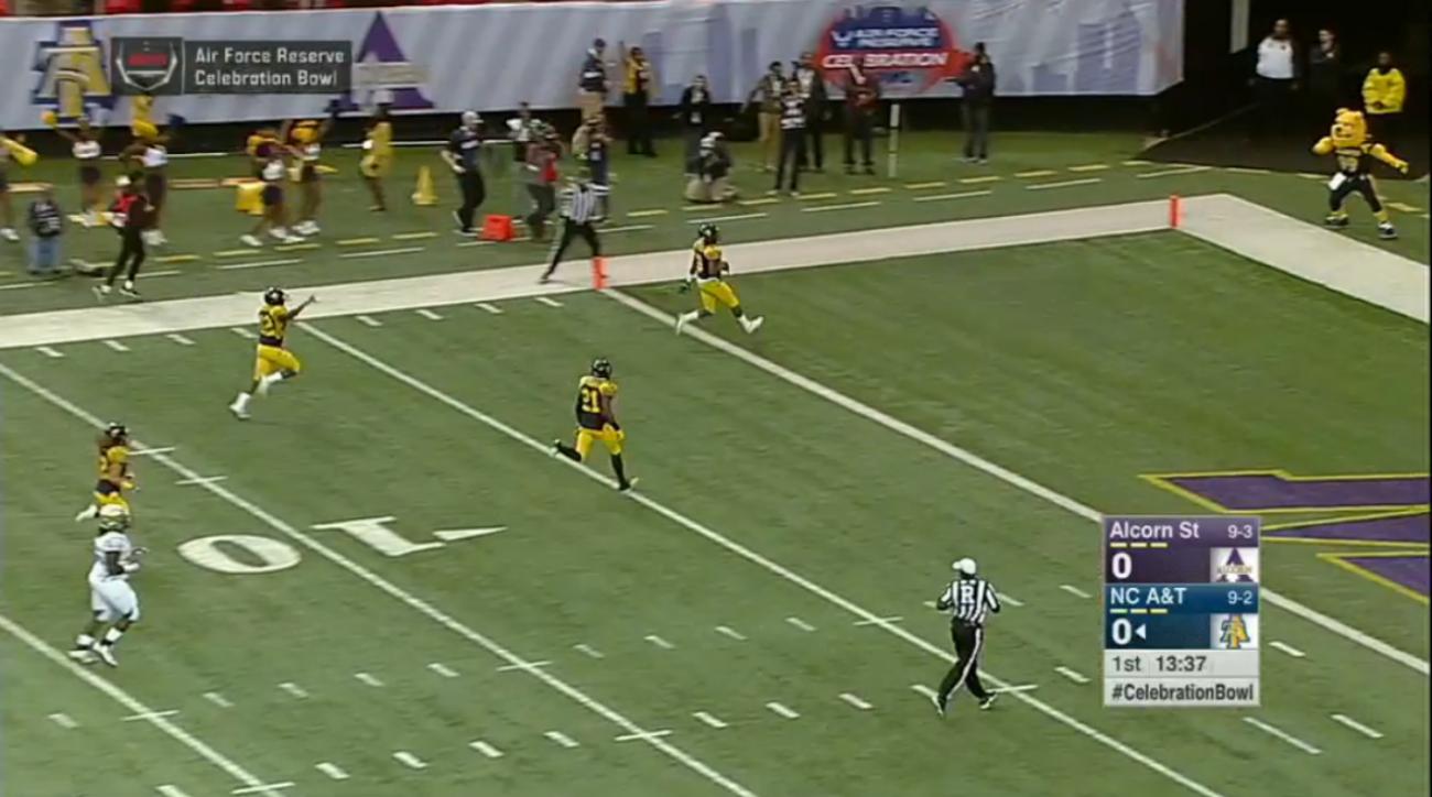 khris gardin punt return touchdown video