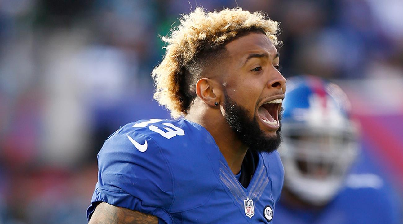 giants panthers odell beckham touchdown catch video