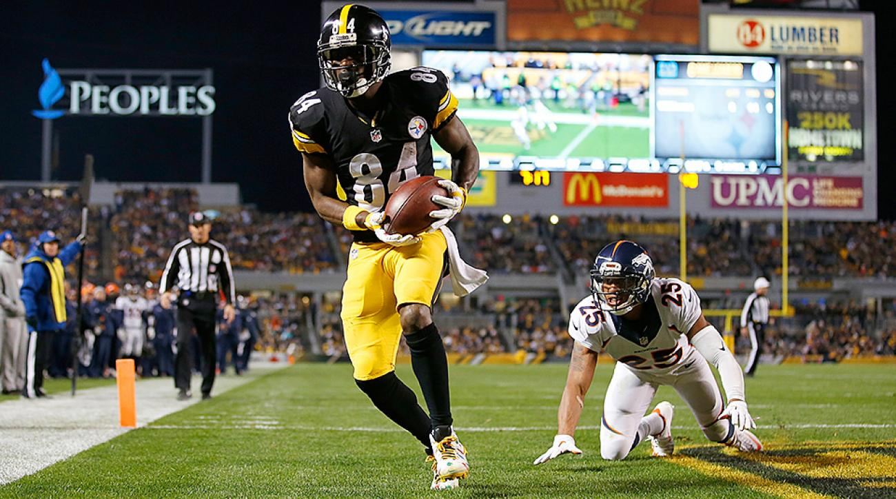 Antonio Brown and the Steelers came roaring back in the second half to stun the Broncos in Pittsburgh.