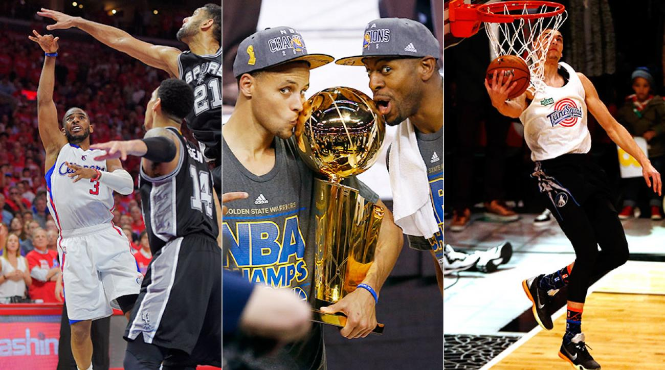 Top 10 NBA moments of 2015