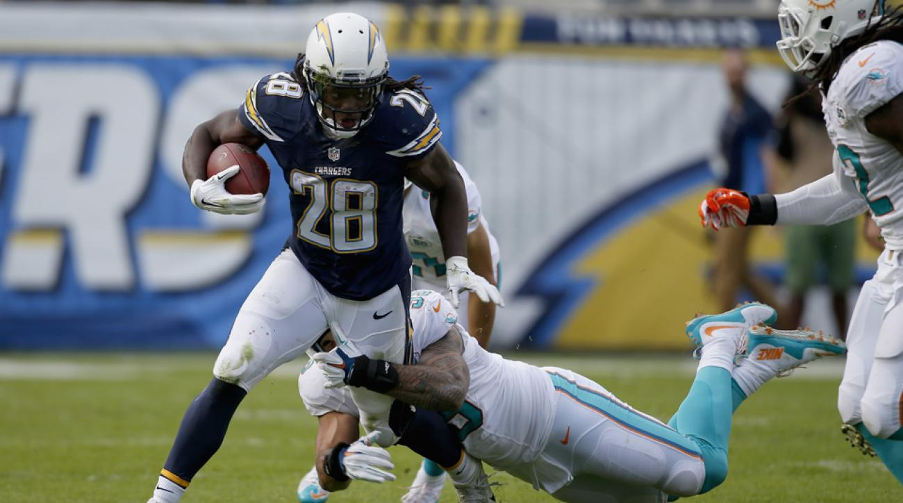 melvin gordon chargers injured reserve