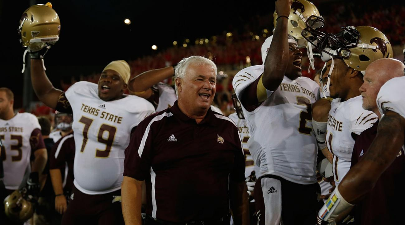 dennis franchione retires texas state